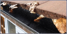 After cleaning your gutters, the Gutter Brush can help prevent further blockages or build up in your gutters